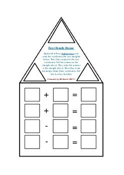Fact Family Houses