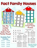 Fact Family Houses - Makes a Great Math Center!
