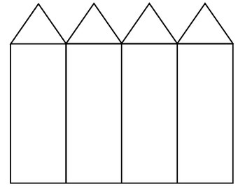 Fact Family Houses Template