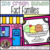 Fact Family Ice Cream Sundae- End of Year or Summer Craft
