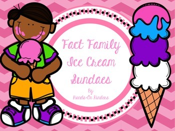 Fact Family Ice Cream Sundaes