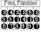 Fact Family Interactive Book