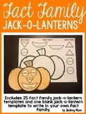 Fact Family Jack-O-Lanterns
