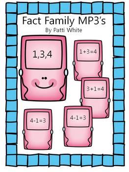 Fact Family MP3's