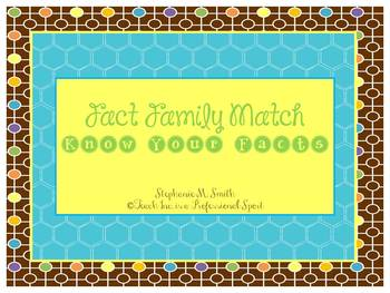 Fact Family Match