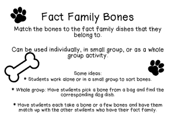 Fact Family Match