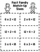 Fact Family Match - Multiples of 6