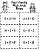 Fact Family Match Combo (Multiples of 3, 4, 5 & 6)