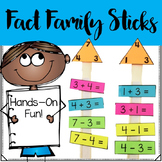 Fact Family Math Sticks