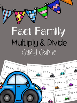 Fact Family Multiplication and Division Math Game