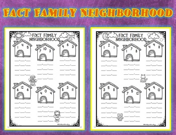 Fact Family Neighborhood