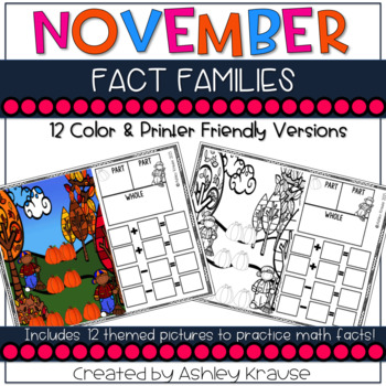 Fact Family: November