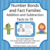 Task Cards • Number Bonds & Fact Families • Addition & Subtraction Facts to 10