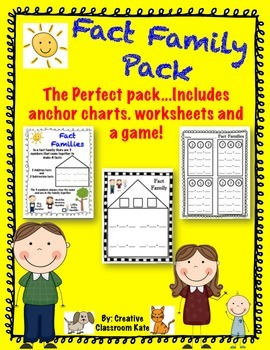 Fact Family Pack