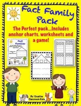 Fact Family Pack