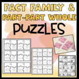 Fact Family & Part-Part-Whole Puzzles