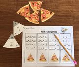 Fact Family Pizza - Addition and Subtraction 1-10