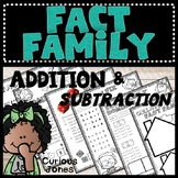 Fact Family Activities with a Poem, Games, and Worksheets