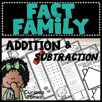 Fact Family Activities with... by Curious Jones | Teachers Pay ...