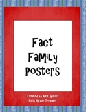 Fact Family Posters to 10