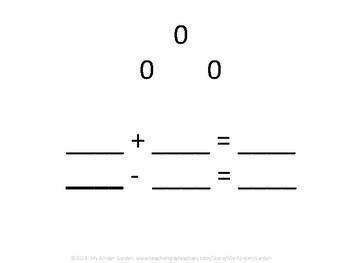 Fact Family Math Practice 0-10
