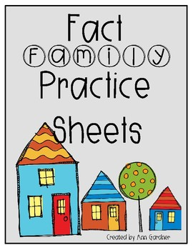 Fact Family Practice - UPDATED!!