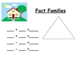 Fact Family Practice Board