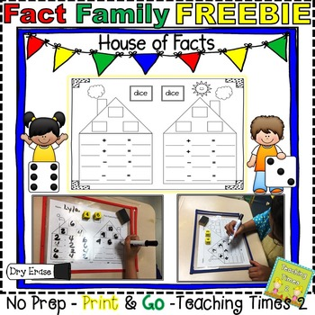 Fact Family Practice Sheet