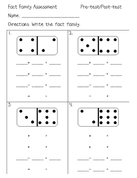 All Worksheets fact families worksheets : Common Worksheets » Math Fact Families Worksheets - Preschool and ...