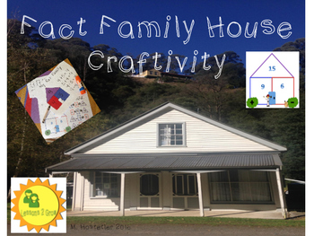 Fact Family - Primary Math Craftivity