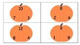 Fact Family Pumpkins