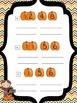 Fact Family Pumpkins: a printable math activity