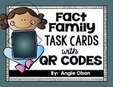 Fact Family QR Code Task Cards