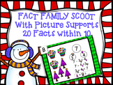 Fact Family Scoot - Addition and Subtraction within 10
