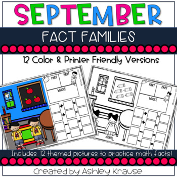 Fact Family: September Classroom