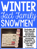 Fact Family Snowmen