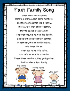 Fact Family Song