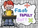 Fact Family Sort