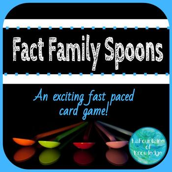 Fact Family Spoons Game