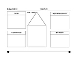 Fact Family Template