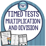 Fact Family Timed Tests: Multiplication and Division Fluency