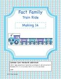 Fact Family Train Ride- Making 14 (Common Core Aligned)