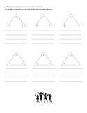Fact Family Triangle Practice Sheet