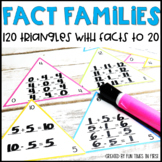 Fact Families Addition / Subtraction to 20