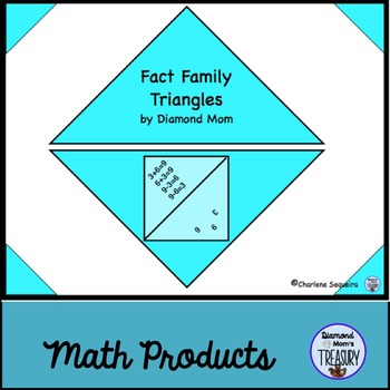 Fact Family Triangles Addition And Subtraction Teaching Resources ...