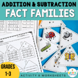 Fact Family Addition and Subtraction Triangles