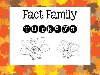 Fact Family Turkeys