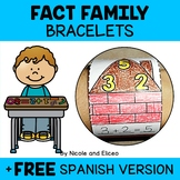 Math Fact Family Activity Bracelets
