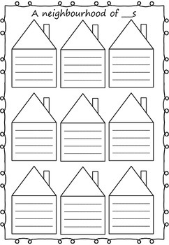 Fact Family Worksheet BLANK/template