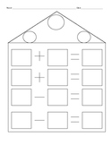 Fact Family Worksheet Template